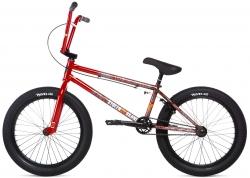 Велосипед 20 Stolen SINNER FC LHD 2020 ROAD KILL (RED SPLATTER FADE), красный