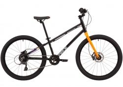 Велосипед 24 Pride GLIDER 4.2 2020, чёрный