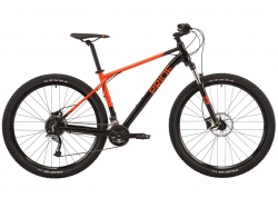 Велосипед 29 Pride Rebel 9.1 рама - XL Black/Orange 2020
