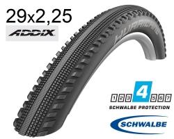 Покрышка 29x2.25 (57-622) Schwalbe HURRICANE Performance, RaceGuard B/B-SK+RT HS499 ADDIX 67EPI B