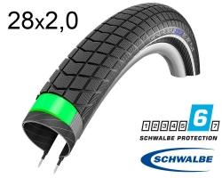 Покрышка 28x2.00 (50-622) Schwalbe BIG BEN PLUS G-Guard SnakeSkin B/B-SK+RT HS439 EC, 67EPI 38B