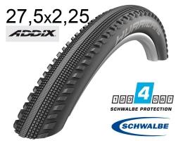 Покрышка 27.5x2.25 650B (57-584) Schwalbe HURRICANE Performance, RaceGuard B/B-SK+RT HS499 ADDIX 67EPI B