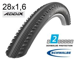 Покрышка 28x1.60 (42-622) Schwalbe HURRICANE Performance B/B-SK HS499 ADDIX 67EPI B