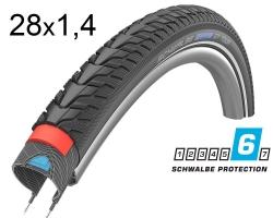 Покрышка 28x1.40 700x35C (37-622) Schwalbe MARATHON GT Tour DualGuard B/B+RT HS485 EC, 67EPI 26B