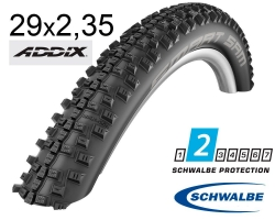 Покрышка 29x2.35 (60-622) Schwalbe SMART SAM Performance B/B-SK HS476 ADDIX 67EPI B