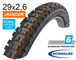Покрышка 29x2.60  (65-622) Schwalbe EDDY CURRENT REAR Super Gravity, Evolution TLE B/B-SK HS497 Addix Soft 67EPI