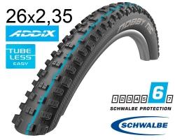 Покрышка 26x2.35 (60-559) Schwalbe NOBBY NIC SnakeSkin TL-Easy Folding Evolution B/B-SK HS463 Addix Spgrip, 67EPI EK