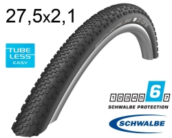 Покрышка 27.5x2.10 650B (54-584) Schwalbe G-ONE BITE SnakeSkin, TL-Easy, Folding Evolution B/B-SK HS487 OSC 67EPI EK