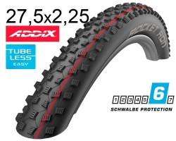 Покрышка 27.5x2.25 650B (57-584) Schwalbe ROCKET RON SnakeSkin TL-Easy Folding Evolution B/B-SK HS438 Addix Speed, 67EPI EK