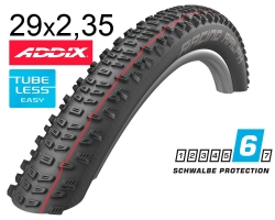 Покрышка 29x2.35 (60-622) Schwalbe RACING RALPH SnakeSkin, Evolution TLE B/B-SK HS490 ADDIX Speed 67EPI