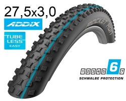 Покрышка 27.5x3.00 650B (75-584) Schwalbe ROCKET RON SnakeSkin TL-Easy Folding Evolution B/B-SK HS438 Addix Spgrip, 67EPI EK