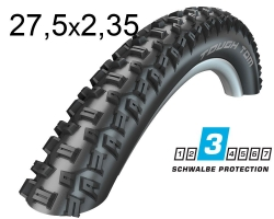 Покрышка 27.5x2.35 650B (60-584) Schwalbe TOUGH TOM K-Guard Active B/B-SK HS411 SBC, 50EPI