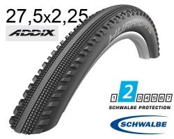 Покрышка 27.5x2.25 650B (57-584) Schwalbe HURRICANE Performance B/B-SK HS499 ADDIX 67EPI B