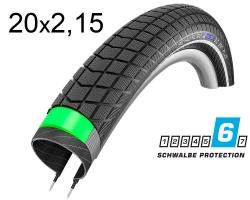 Покрышка 20x2.15 (55-406) Schwalbe BIG BEN PLUS G-Guard SnakeSkin Performance B/B-SK+RT HS439 EC, 67EPI 26B