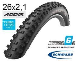Покрышка 26x2.10 (54-559) Schwalbe NOBBY NIC Performance TL-Ready Folding B/B HS463 Addix, 67EPI EK