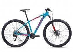 Велосипед Orbea MX40 27 M 2021 Blue Bondi- Bright Red (Gloss)