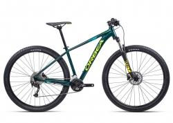 Велосипед Orbea MX40 27 M 2021 Ocean - Yellow (Gloss)