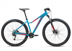 Велосипед Orbea MX40 ENT 27 M 2021 Blue Bondi- Bright Red (Gloss)