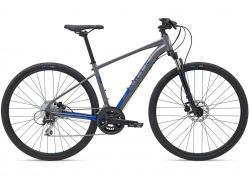 Велосипед 28MarinSAN RAFAEL DS2 рама - XS 2021 Gloss Grey/Blue