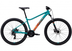 Велосипед 27,5 Marin WILDCAT TRAIL 1 WFG рама - M 2021 Gloss Dark Teal/Coral/Dark Coral