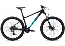 Велосипед 27,5 Marin WILDCAT TRAIL 3 WFG рама - M 2021 Gloss Black/Dark Teal/Light Teal