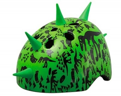 Шлем детский Green Cycle DINOSAUR размер S 48-52см зеленый