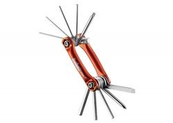 Мультитул Ice Toolz 96B3, Bar-11 Шестиранники 1.5x2x2.5x3x4x5x6x8mm. Отвертки +/-. Торкс Т-25