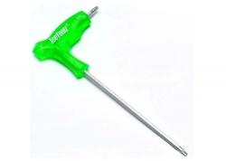 Ключ Ice Toolz 7T25 двухсторонний T-25, зеленый