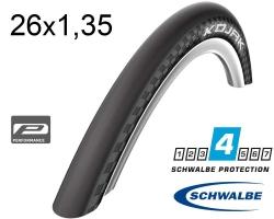 Покрышка 26x1.35 (35-559) Schwalbe KOJAK RaceGuard, Folding, B/B-SK HS385 SpC 67EPI