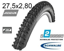 Покрышка 27.5x2.80 (70-584) Schwalbe SMART SAM Perf, Folding B/B-SK HS476 ADDIX 67EPI