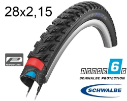Покрышка 28x2.15 (55-622) Schwalbe MARATHON GT 365 Perf, DualGuard, TwinSkin, B/B+RT HS475 FS 67EPI 37B