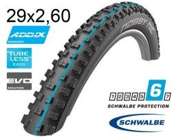 Покрышка 29x2.60 (65-622) Schwalbe NOBBY NIC SnakeSkin, TLE, Apex, Folding Evolution B/B-SK HS463 Addix Spgrip 67EPI EK