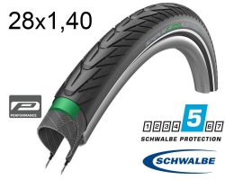 Покрышка 28x1.40 700x35C (37-622) Schwalbe ENERGIZER PLUS GreenGuard, TwinSkin B/B+RT HS492 Addix E 67EPI 26B