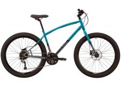 Велосипед 27,5 Pride ROCKSTEADY 7.2 рама - L 2021 бирюзовый