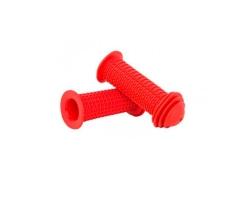 Грипсы Green Cycle GGR-171 96mm детские, эргономичные, красные