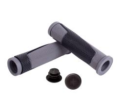 Грипсы Green Cycle GGR-004 130mm черно-серые с барендами