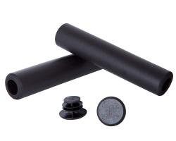 Грипсы Green Cycle GGR-701 130mm вспененный силикон, черные