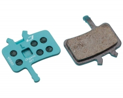 Колодки тормозные диск JAGWIRE Organic Sport Disc DCA764 (2 шт) - Avid® BB7, All Juicy Models Blue