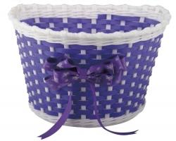 Корзина Green Cycle GCB-02-11 детская плетеный пластик, фиолетовая