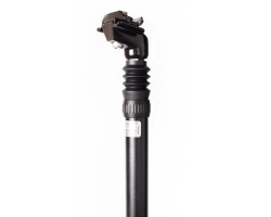 Подседельная труба ZOOM SPS-C373/ISO-C, 27,2х350мм, алюминий литой, SAND BLASTED AN BK
