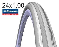 Покрышка 24x1.00 3/8x1 (25-540) Mitas TOURNIER V03 Pre Classic, серая для колясок