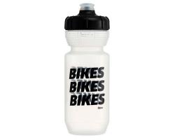 Фляга 0,600 Fabric GRIPPER Bikes CLB (прозрачный с черным)