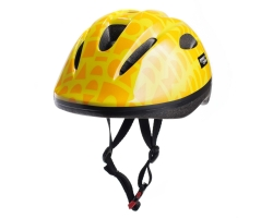 Шлем детский Green Cycle FLASH размер 48-52см желтый лак
