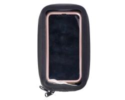 Сумка водонепроницаемая на руль под телефон XLC, 18x9x4см, черная