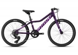 Велосипед Ghost Lanao 20 AL W , фиолетовый, 2021