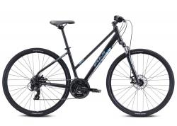 Велосипед Fuji 28 TRAVERSE 1.7 ST рама - 19 2021 Satin Black /Cyan