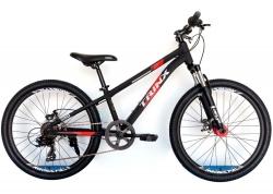 Велосипед Trinx 24 M134 2021 Matt-Black-Grey-Red