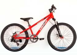 Велосипед Trinx 24 M134 2021 Matt-Red-White-Red