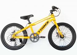 Велосипед Trinx 20 Junior 1.0 2021 Orange-black-white