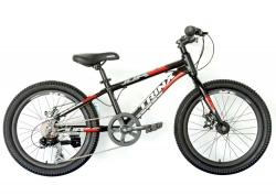 Велосипед Trinx 20 Junior 3.0 2021 Black-Grey-Red